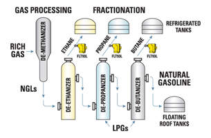 Fractionation Diagram