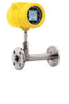 Yellow FCI ST100 in-line meter