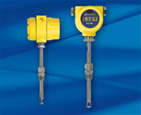 Yellow FCI ST meter, profile and display face