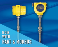 Yellow FCI ST meter, profile and display face;