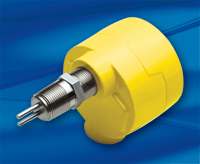 FCI Model FLT93 with yellow enclosure and stainless steel flow element