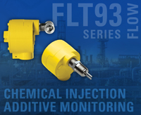 FCI Flow Switch Ensures Accurate Chemical Injection Or Additive Monitoring For Process Control and Quality