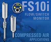 Monitoring Compressed Air in Packaging Machinery with FS10i Flow Switch/Monitor Lowers Energy