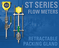 FCI's ST Series Flow Meters with Packing Glands Simplify and Speed Process Maintenance Tasks