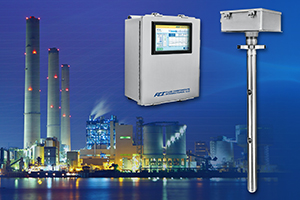 MT100 enclosure with display, multipoint insertion sensor