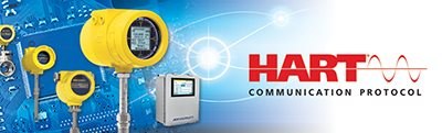 FCI flow meter line with HART logo